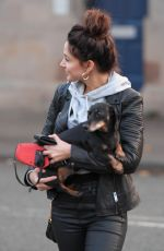 MICHELLE KEEGAN Out with Her Dog in Cheshire 07/30/2020
