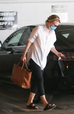 MICHELLE PFEIFFER Arrives at a Meeting in Santa Monica 08/17/2020