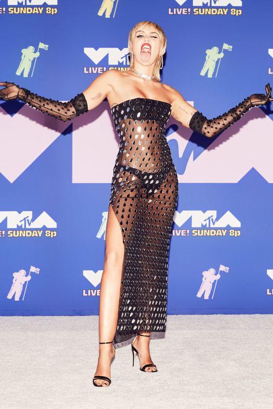 MILEY CYRUS at 2020 MTV Video Music Awards 08/30/2020