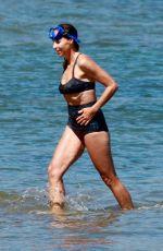 MINNIE DRIVER in Bikini at a Beach in Malibu 08/08/2020