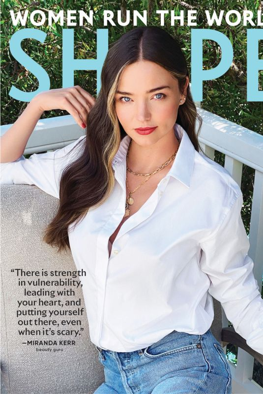 MIRANDA KERR in Shape Magazine, September 2020