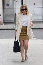 MOLLIE KING Arrives at BBC Studios in London 08/08/2020