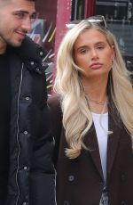 MOLLY MAE HAGUE and Tommy Fury Out in Cheshire 07/30/2020