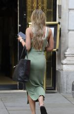 MOLLY SMITH Arrives at Gotham Hotel in Manchester 08/13/2020
