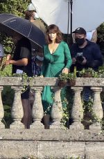 MONICA BELLUCCI on the Set of D&G Advertising Campaign in Lake Como 07/27/2020