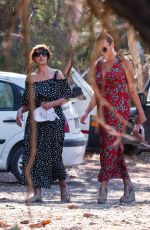MONICA BELLUCCI Out on Vacation in Greece 08/03/2020