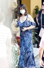 MONICCA BELLUCCI Out Shopping in Bellagio 07/07/2020