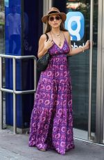MYLEENE KLASS Arrives at Global Radio in London 08/12/2020