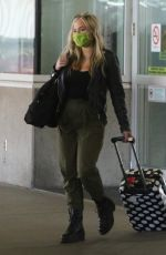 NATALIE ALYN LIND Arrives at Airport in Vancouver 08/02/2020