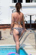 NICOLE BASS in Bikini on the Set of TOWIE in Essex 08/10/2020