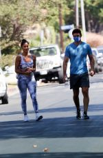 NICOLE SCHERZINGER Heading to a Private Gym in Los Angeles 08/26/2020