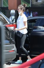 NINA DOBREV at Erewhon Market in Los Angeles 08/11/2020