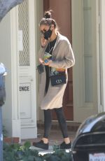 NINA DOBREV Out at Melrose Place in West Hollywood 08/06/2020