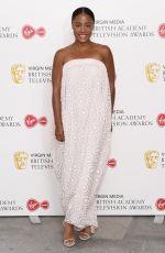 NINA TOUSSAINT-WHITE at Virgin Media British Academy Television Awards 2020 in London 07/31/2020