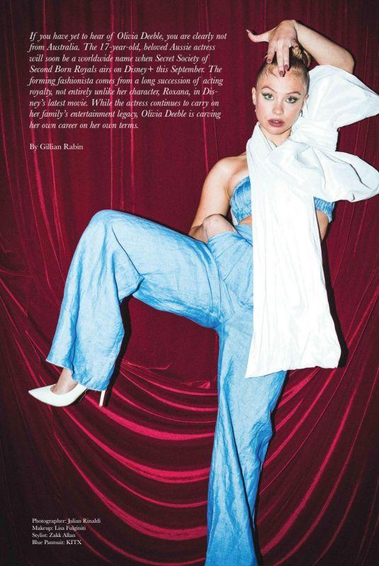 OLIVIA DEEBLE in Bode Magazine, August 2020