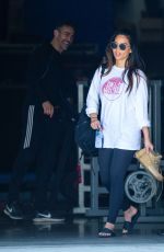 OLIVIA MUNN Leaves a Gym in Los Angeles 08/05/2020