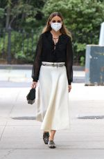 OLIVIA PALERMO Out and About in New York 08/17/2020
