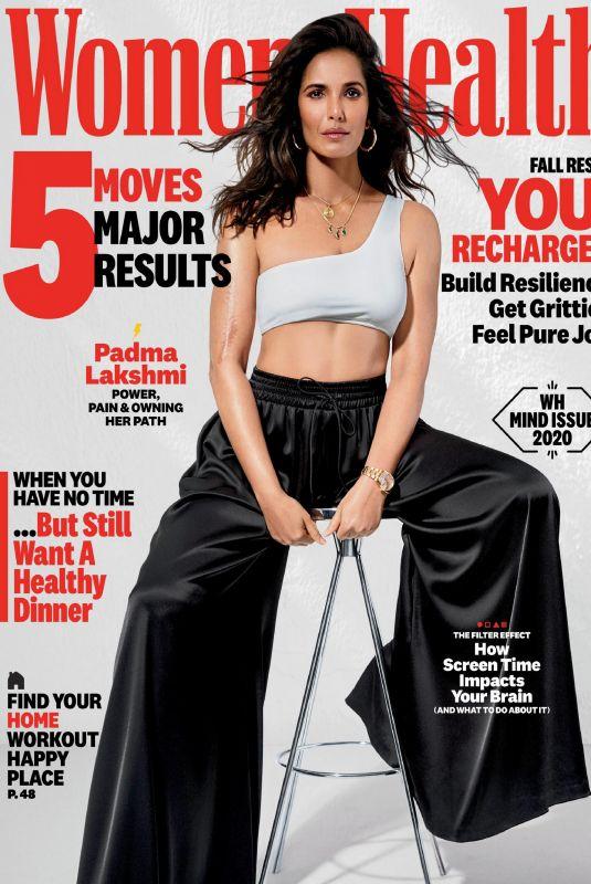 PADMA LAKSHMI in Women's Health Magazine, September 2020