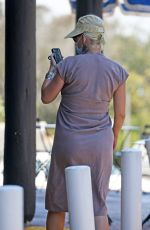 Pregnant KATY PERRY Out for Coffee in Santa Barbara 08/03/2020