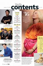 Pregnant LATY PERRY in People Magazine, August 2020