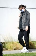 Pregnant ROONEY MARA Out in Los Angeles 08/03/2020