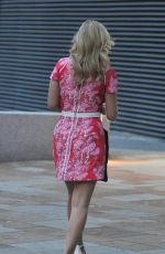 RACHEL RILEY Leaves MediacityUK in Manchester 08/10/2020