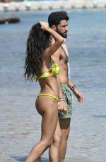 RAFFAELLA FICO in Bikini at a Beach in Greece 08/09/2020