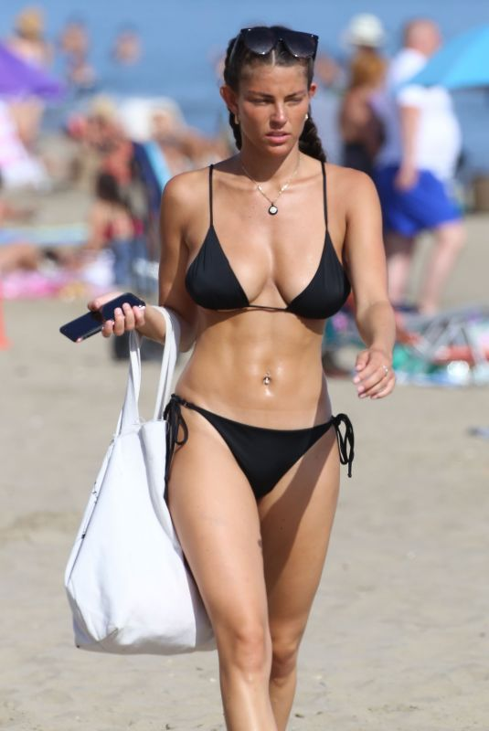REBECCA GORMLEY in Bikini at a Beach in Marbella 08/02/2020