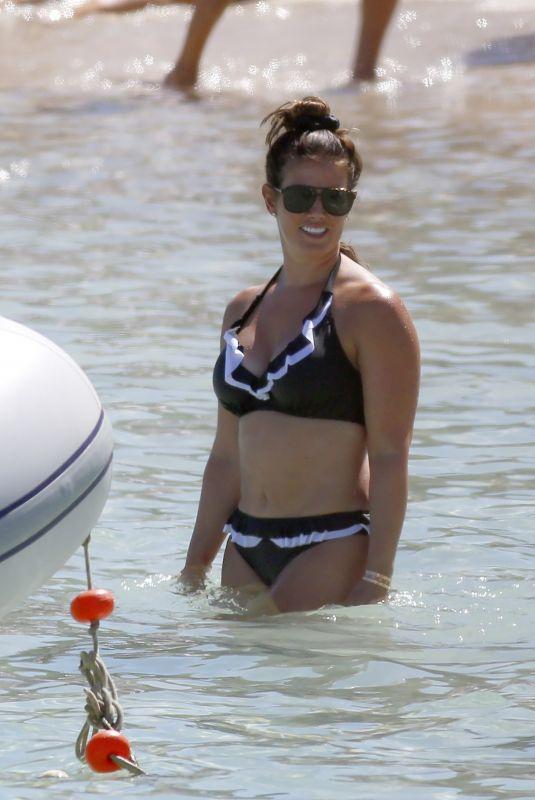 REBEKAH VARDY in Bikini at a Beach in Spain 08/06/2020