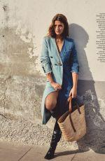 REGITZE CHRISTENSEN for Elle Magazine, Italy August 2020