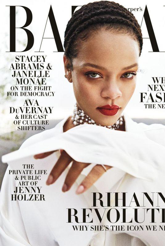 RIHANNA in Harper's Bazaar Magazine, September 2020