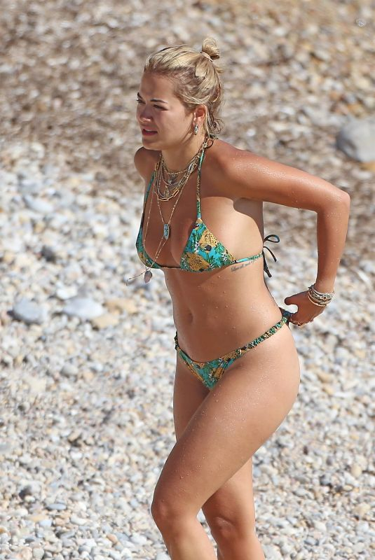 RITA ORA in Bikni at a Beach in Spain 08/07/2020