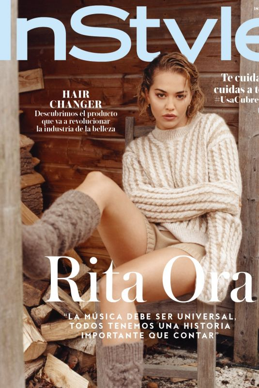 RITA ORA in Instyle Magazine, Mexico August 2020