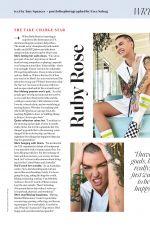 RUBY ROSE in Shape Magazine, September 2020