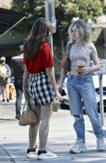 SABRINA CARPENTER Out for Lunch at Sweet Butter in Studio City 08/16/2020