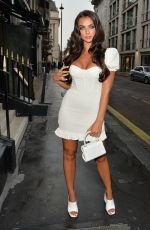 SAMIRA MIGHTY Arrives at Oh Polly Party in Mayfair 08/13/2020