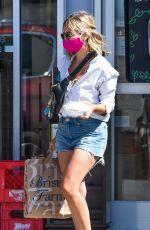 SARAH MICHELLE GELLAR in Denim Shorts Out in Los Angeles 08/26/2020