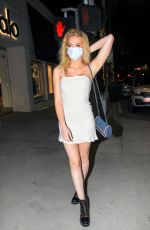 SAXON SHARBINO Night Out in Los Angeles 08/12/2020