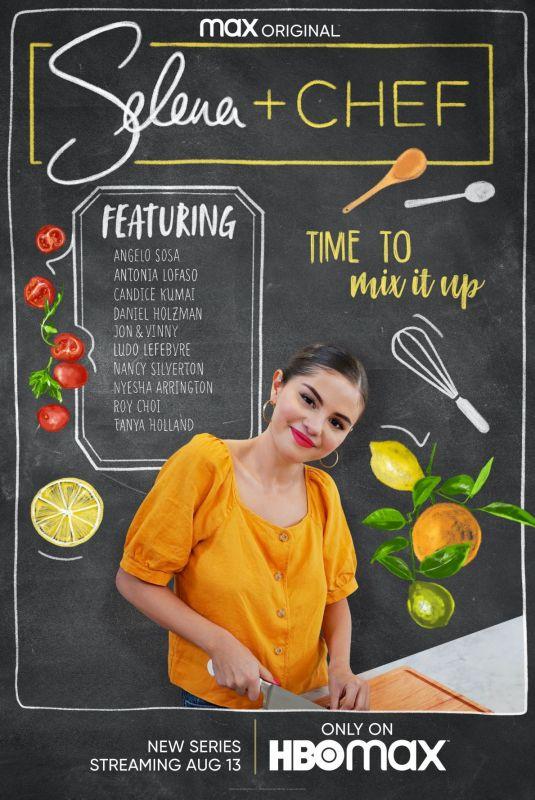 SELENA GOMEZ – Selena + Chef Promos, 2020