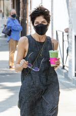 SELMA BLAIR Wearing a Mask Out in Los Angeles 08/27/2020