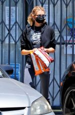 STELLA MAXWELL Out Shopping in Los Angeles 08/11/2020