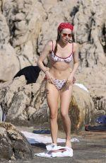 SUKI WATERHOUSE in Bikini at a Beach in Saint Jean Cap Ferat 07/31/2020