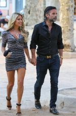 SYLVIE MEIS Out for Lunch in Saint-tropez 08/06/2020