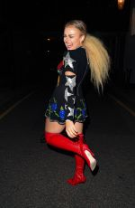 TALLIA STORM at LH2 Studios in London 08/04/2020