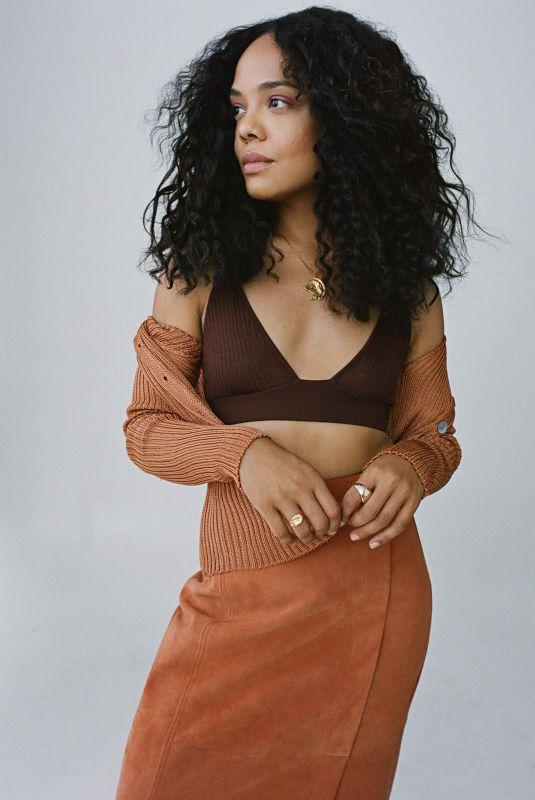 TESSA THOMPSON for The Edit by Net-a-porter, August 2020