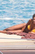 TINA KUNAKEY in Bikinis on Holiday in Greece 08/06/2020