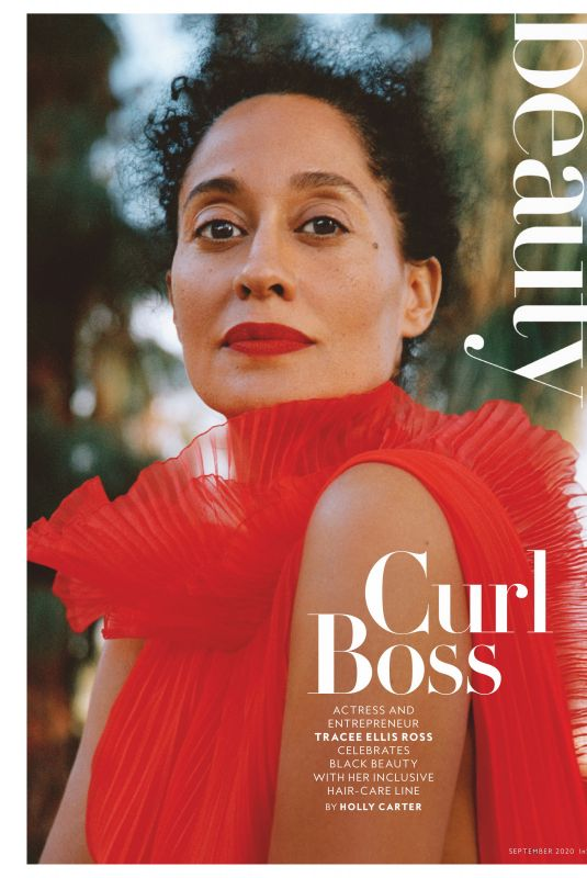 TRACEE ELLIS ROSS in Instyle Magazine, September 2020