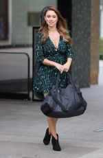 UNA HEALY Leaves Sunday Brunch Studios in London 08/16/2020