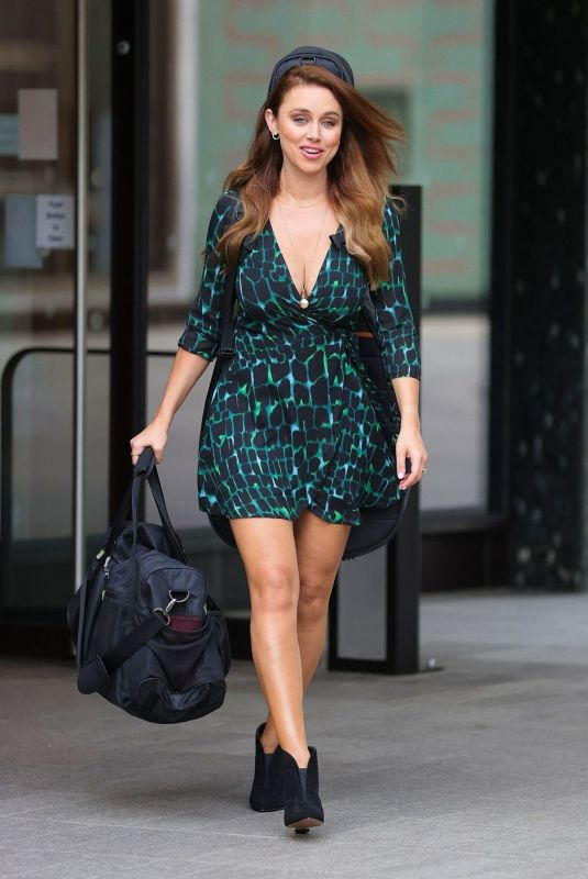 UNA HEALY Out and About in London 08/16/2020