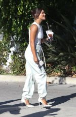 VANESSA HUDGENS Arrives on the Set of New Project in Los Angeles 08/11/2020